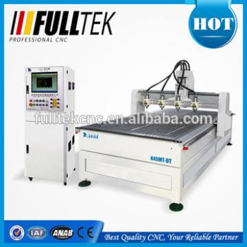 4 Heads 3D CNC Router for sale K45MT-DT,Wood Sculpture Cameo Making
