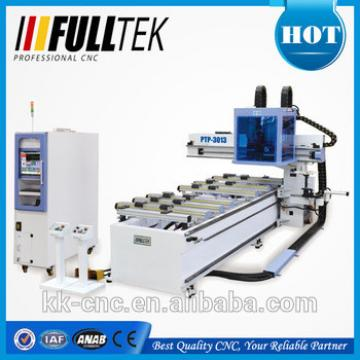 cnc engraving machine with PTP table and boring head
