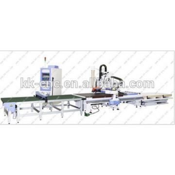 cnc router with auto loading and unloading system