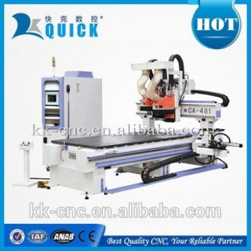 cabinet cnc router with boring head