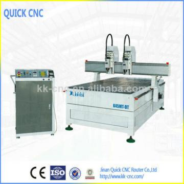 two heads cnc machine for Sign and graphics fabrication