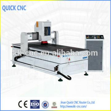 wood door making cnc machine ,with 4th axis ,servo motor,roatry aixs ,working area 1300*2500 K1325