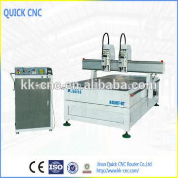 Quality woodworking machine with two spindles at affordable price K45MT-DT