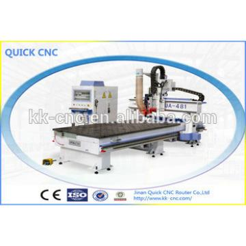 cnc flat bed router with auto tool changer UA481