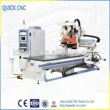 cnc router with Multi drill side drill and saw CA 481