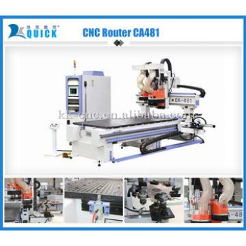 Hot sale 3d CNC Router cutting and engraving Machine UA-481 1,220 x 2,440 x 200mm