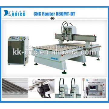 Hot sale cutting and engraving Carpentry multifunctional CNC Router Woodworking Machine K60MT-DT for sale