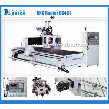 Factory 3d Smart Carpentry multifunctional CNC Router cutting and engraving Woodworking Machine UC4811,300 x 2,500 x 300mm
