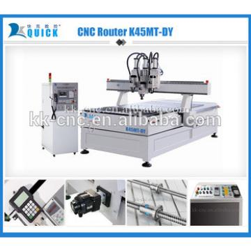 Hot sale 3d carpentry cutiing and engraving CNC Router Woodworking Machine 2,000 x 3,050 x 200mm K45MT-DY