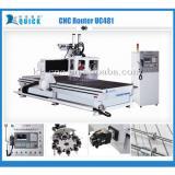 hot sale cnc wood carving machine 1300 x 2550 x 300mm UC-481