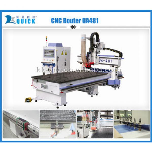 Hot sale 3d CNC Router cutting and engraving Factory Multifunctional Machine UA-481 1,220 x 2,440 x 200mm #1 image
