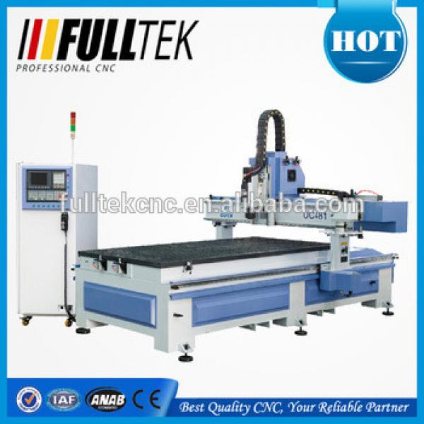 carousel auto tool changer cnc router,wood engraving machine UC-481 R10 #1 image