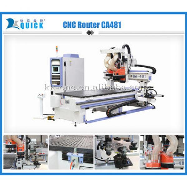 3d CNC Router cutting and engracing Machine UA481 1,220 x 2,440 x 200mm #1 image